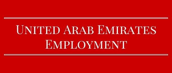 UAE employment